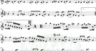 Untitled 1 310x165 - نت پیانوی The Prayer