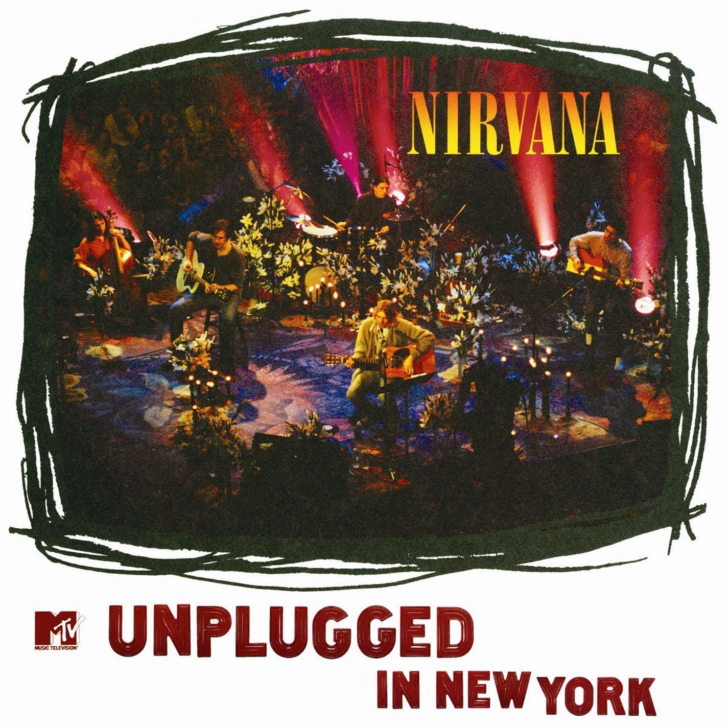 81fXt2LqjLL. SL1425  - کتاب نت و تبلچر البوم  MTV Unplugged in New York برای گیتار