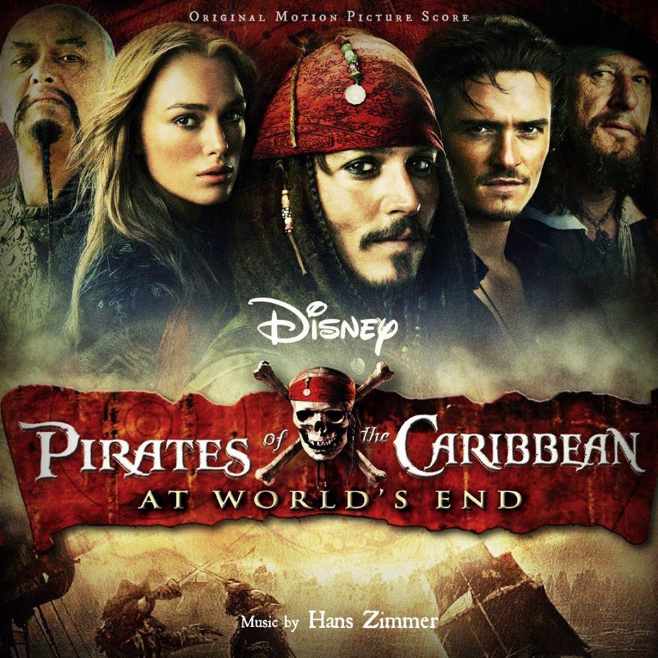 نت موسیقی متن فیلم دزدان دریایی کارائیب