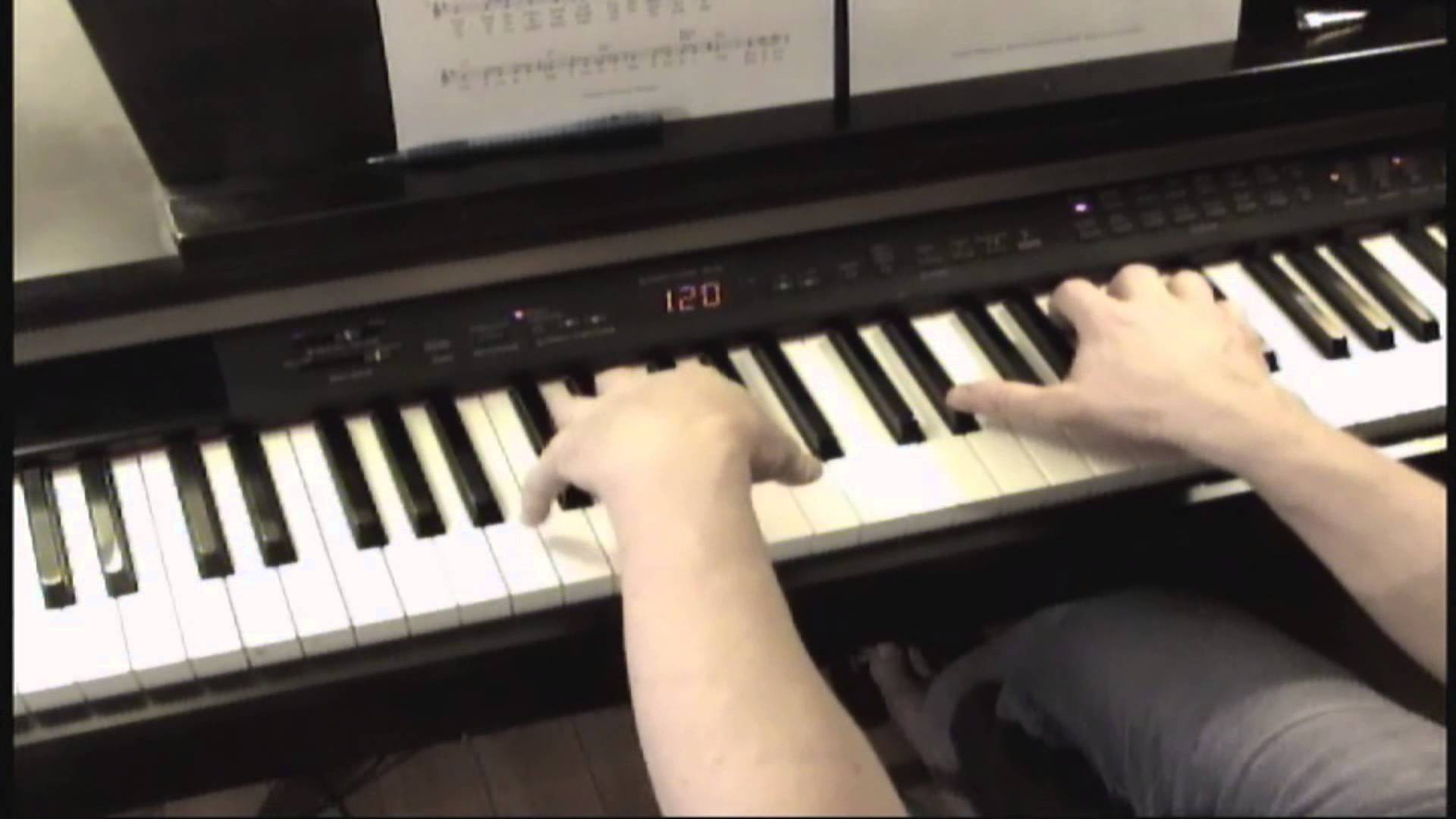 نت پیانوی آهنگ زیبای nothing else matter از متالیکا