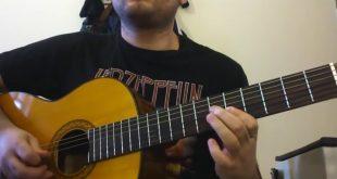 نت و تبلچر آهنگ بهت قول می دم از محسن یگانه برای گیتار