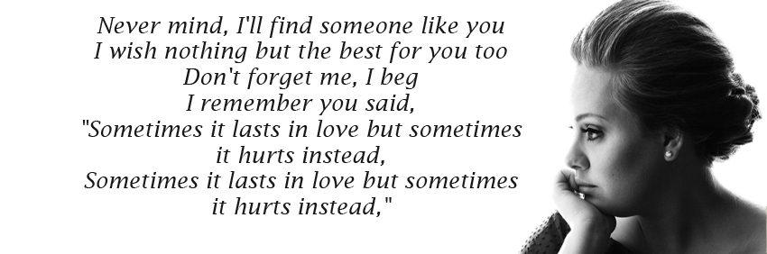 someone like you نت آهنگ