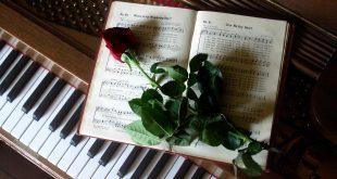 نت پیانوی غم لیزا