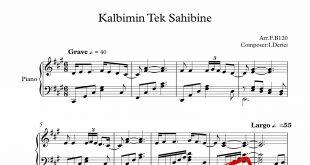 نت آهنگ ترکی