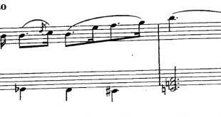 نت ترکی لیریک ماهنیسی برای پیانو همراه نت وکال