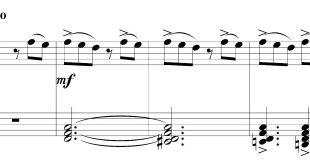 نت پیانوی آهنگ جوش دنیزیم