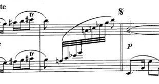 نت پیانوی ترکی سنده قالماز به همراه خط وکال