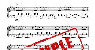 نت پیانوی خیلی روزا گذشت سیروان خسروی