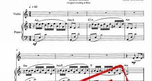 دوئت ویولن و پیانو قطعه Passacagila از آلبوم secret garden