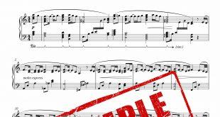 نت پیانوی آهنگ دیوار از فرامرز اصلانی