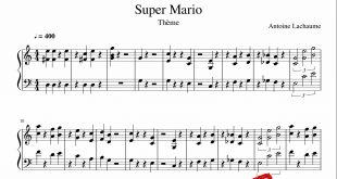 نت پیانوی سوپر ماریو