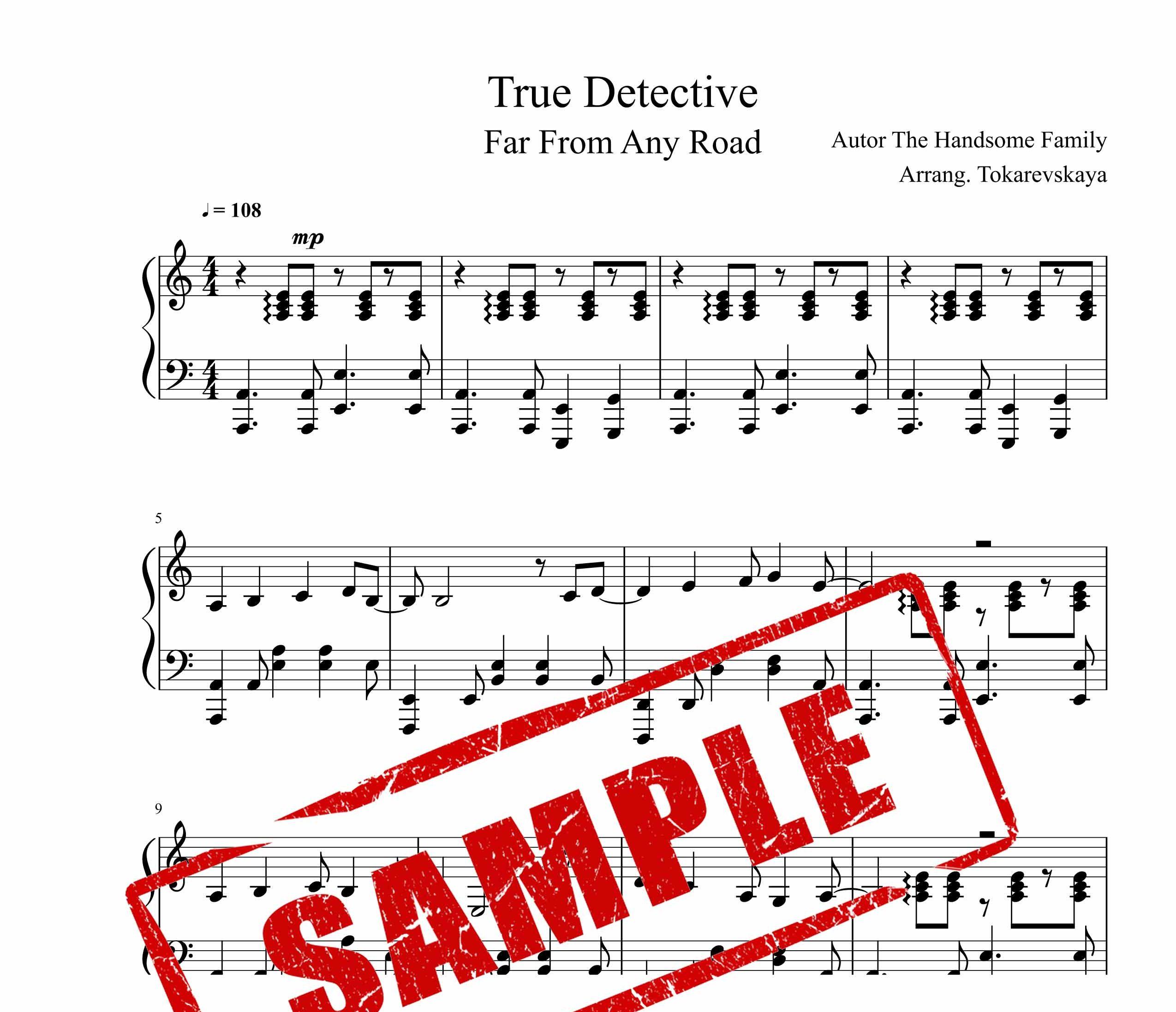 نت آهنگ سریال کارگاه حقیقی برای پیانو