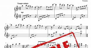 نت پیانوی آهنگ لایت Love Me