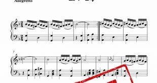 نت پیانوی آهنگ پری کجایی