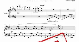 نت پیانوی آهنگ Victor ́s Piano Solo