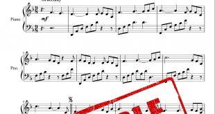 نت پیانوی قطعه فلیتسا از یانی