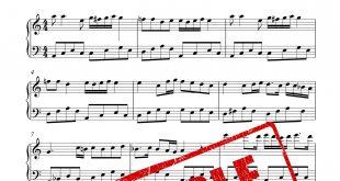 نت آهنگ مخلوق برای پیانو