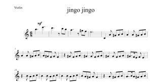 آهنگ جینگو جینگه از حامد فقیهی برای ویولن 310x165 - نت ویولن آهنگ جینگو جینگه از حامد فقیهی