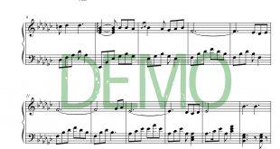 آهنگ ماه پیشونی 1 310x165 - نت آهنگ ماه پیشونی از هوروش بند برای پیانو