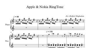 زنگخورهای Apple و Nokia برای پیانو 310x165 - نت پیانوی زنگخورهای Apple و Nokia