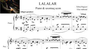 آذری آهنگ لاله لر برای پیانو وآواز 310x165 - نت پیانوی آذری آهنگ لاله لر