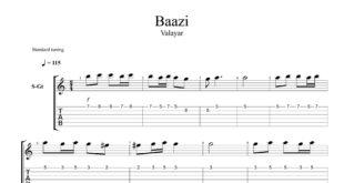 و تبلچر آهنگ بازی از خواب برگشتم به تنهایی برای گیتار با تنظیم سینا حسن پور 310x165 - نت و تبلچر گیتار آهنگ بازی ( از خواب برگشتم به تنهایی