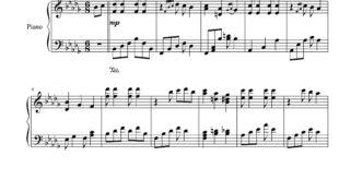 نت پیانوی درویش از گلپا